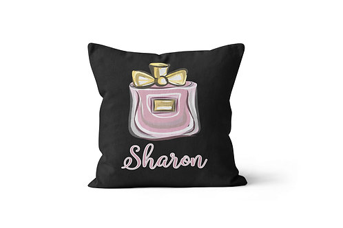 "WS Perfume Bottle 16""x16"" Throw Pillow Cover"
