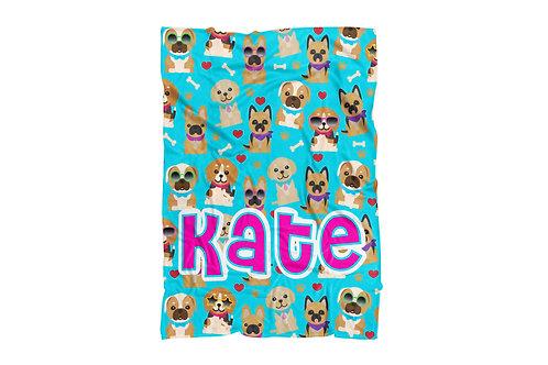 """Doggies XL Size Blanket (60""""x80"""")"""