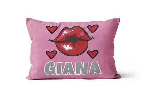 Kiss Lips Pillowcase