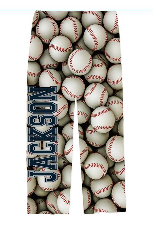 Youth Baseball PJ Pants
