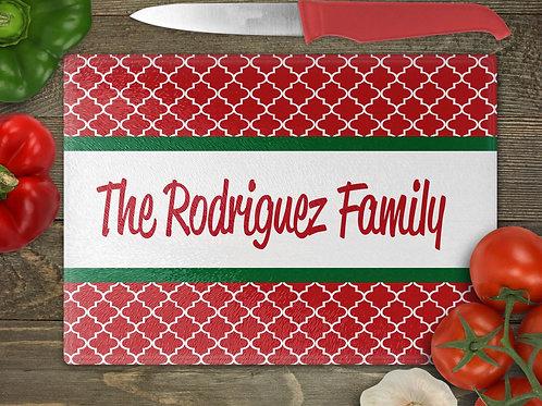 """11""""x8"""" Christmas Cutting Board"""