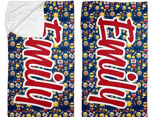 "Camp BFF Emojis 30"" x 50"""