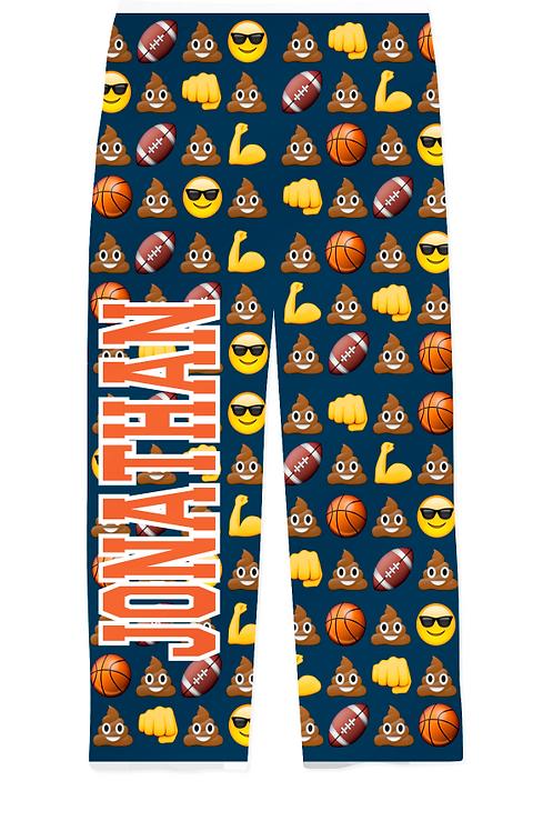 Youth Sports & Emojis PJ Pants