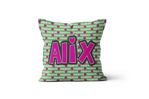 "WS Camp Love 16""x16"" Throw Pillow Cover"