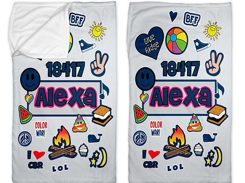 "My Camp Patches 40"" x 60"" Sleep Sack"