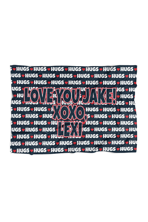 "HUGS in Simple X-Large Sized Blanket (60""x80"")"