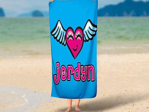 WS Flying Heart Towel