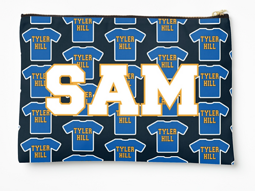 """My Camp Tee Large 12.5""""x8.5"""" Pouch"""