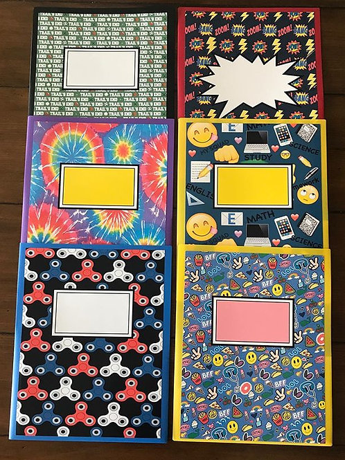 WS Camp Designs Generic Folders