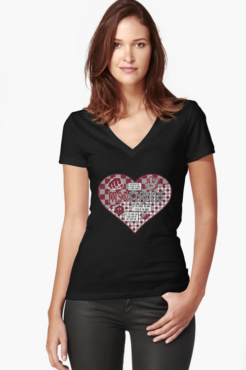 MSD Love WomensV-Neck