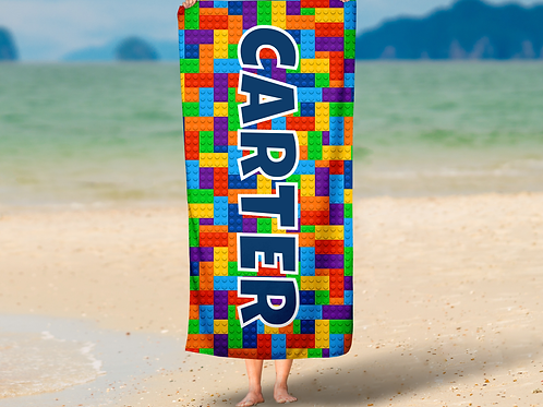Lego Print TOWEL