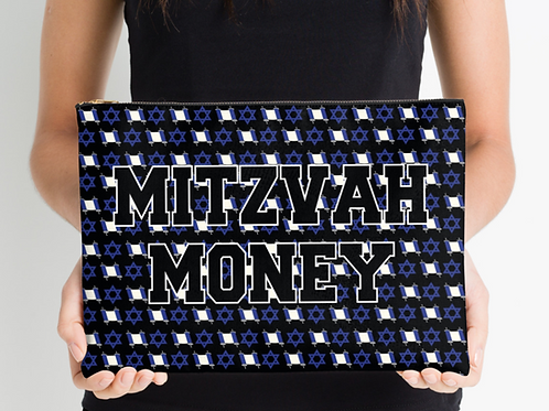 """Mitzvah Envelope Holding 12.5""""x8.5"""" Pouch"""