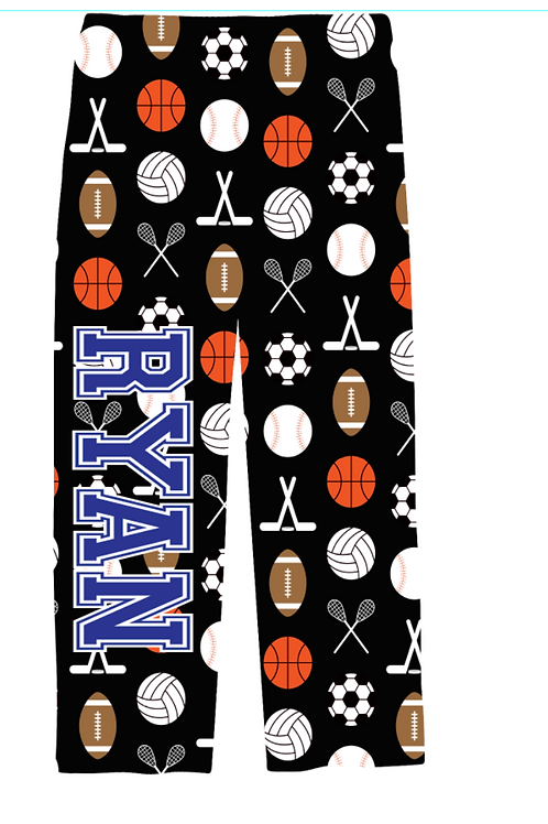 Youth Sports PJ Pants