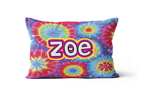 Tie Dye Pillowcase