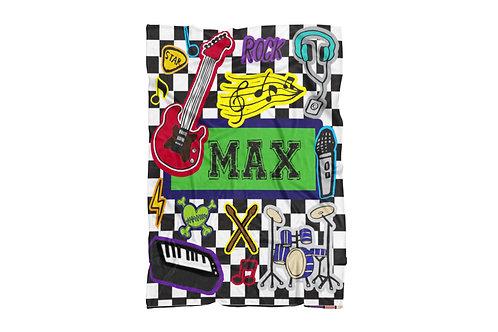 "Music Extra Large Size Blanket (60""x80"")"