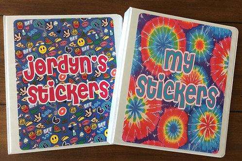 Sticker Book - Camp Designs