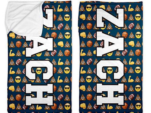 "Sports & Emojis 30"" x 50"" Sleep Sack"