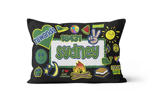 My Camp Patches Pillowcase