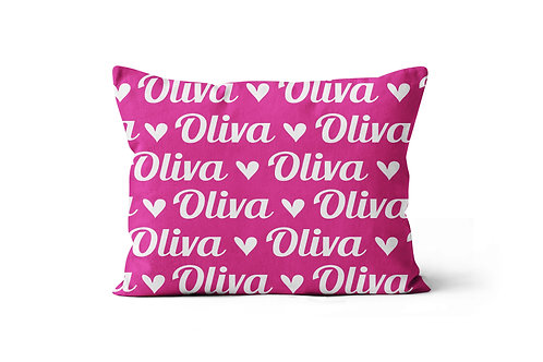 WS Script Name Pillowcase