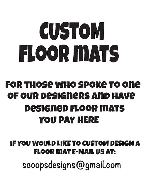 WS Custom Floor Mat
