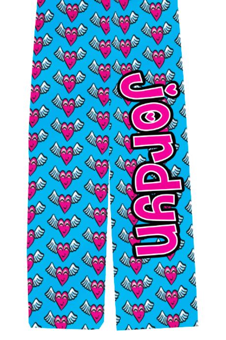 WS Adult Flying Hearts PJ Pants