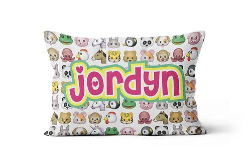 Animal Emojis Pillowcase