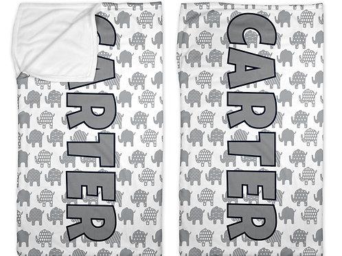 """Elephants 40"""" x 60"""" Sleep Sack"""