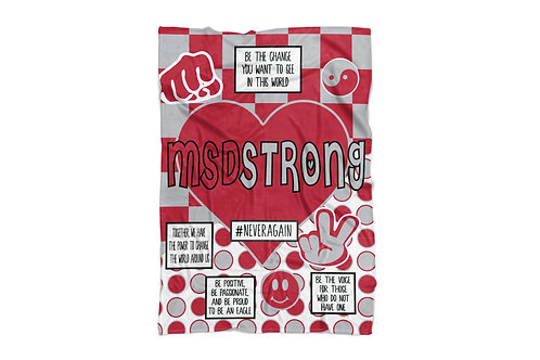 "MSD Love Super Soft Blanket (50""x60"")"