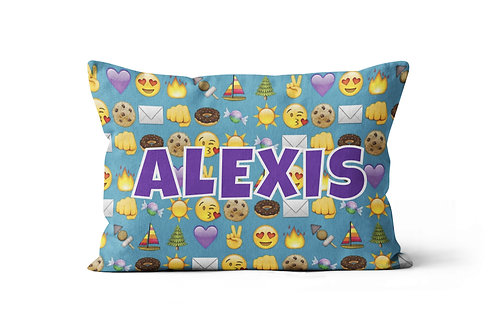 WS Camp Emojis Pillowcase