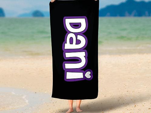 Just a Name Towel