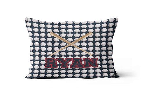 Baseballs & Bats Pillowcase