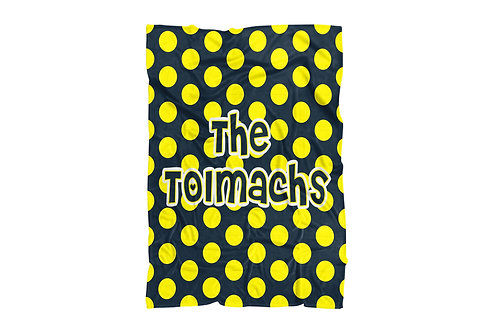 "copy of Polka Dots Baby & Toddler Blanket (30""x40"")"