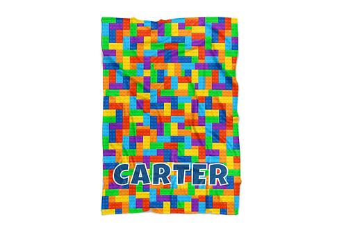 "WS Lego Print Standard Size Blanket (50""x60"")"