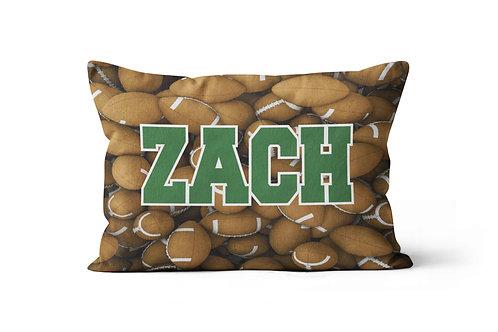 WS Football Pillowcase