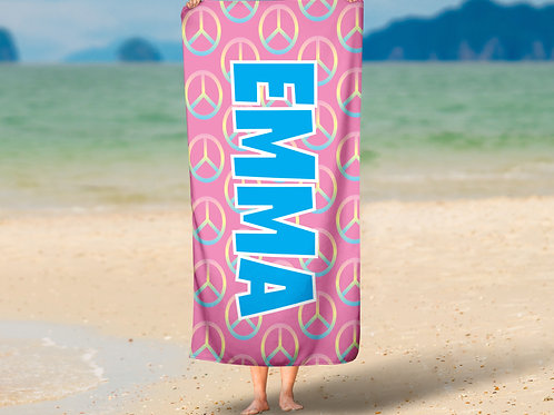 Pink Peace TOWEL