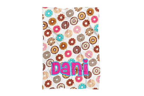 "WS Donuts Baby & Toddler Blanket (30""x40"")"