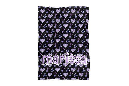 "Love for Music Baby & Toddler Blanket (30""x40"")"