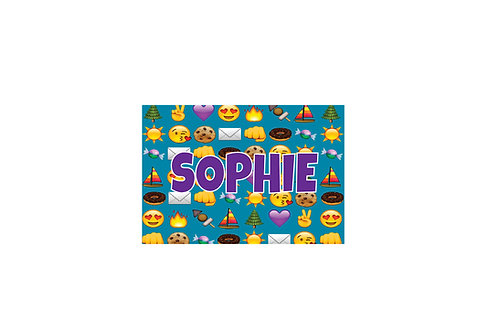 WS Camp Emojis Floor Mat