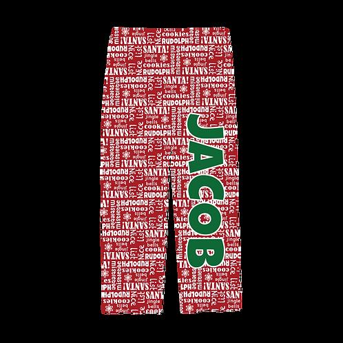 WS Christmas Print PJ Pants