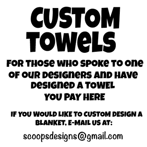 Custom TOWEL