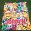 "Thumbnail: Crazy Emojis Standard Sized Blanket (50""x60"")"