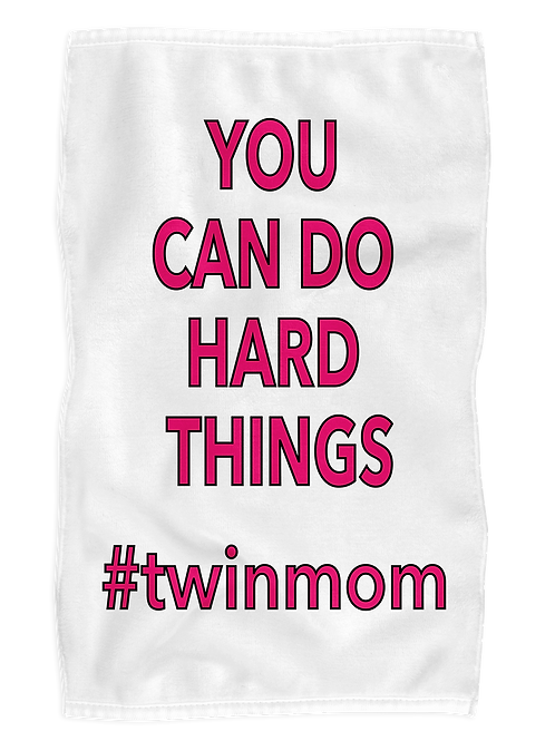 Hard Things Exercise Towel
