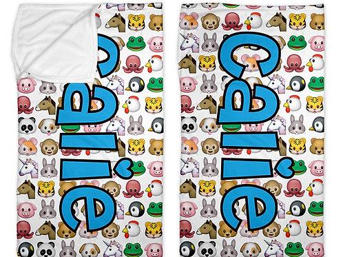 "Animal Emojis 30"" x 50"" Sleep Sack"