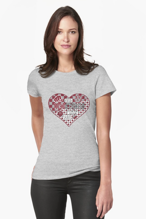 MSD Love Womens Tee