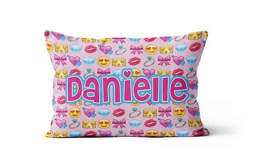 WS Girly Emojis Pillowcase