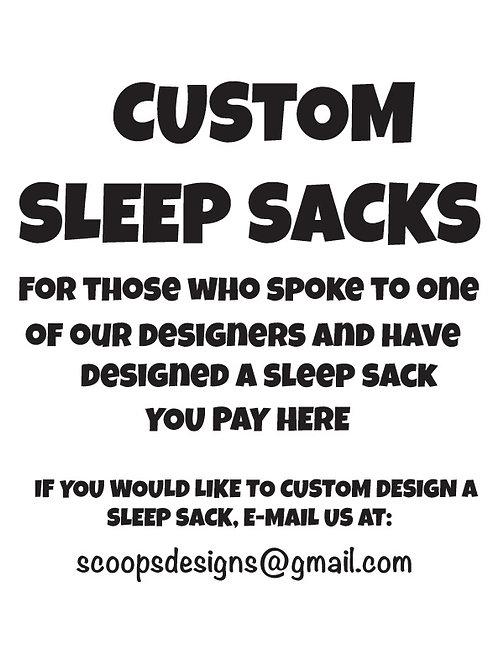 WS Custom SLEEP SACKS