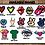 "Thumbnail: Single Image 8.5""x11"" Stickers"