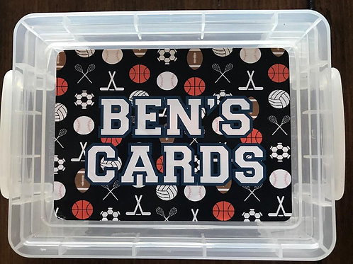 WS Sports Designs Playing Cards Box