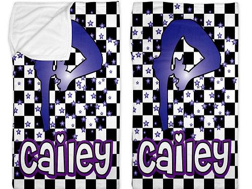 """Checkered Radial Gymnast 40""""x60"""" Sleep Sack"""
