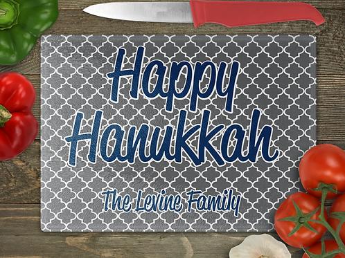 "11"" x 8"" Family Hanukkah Cutting Board"